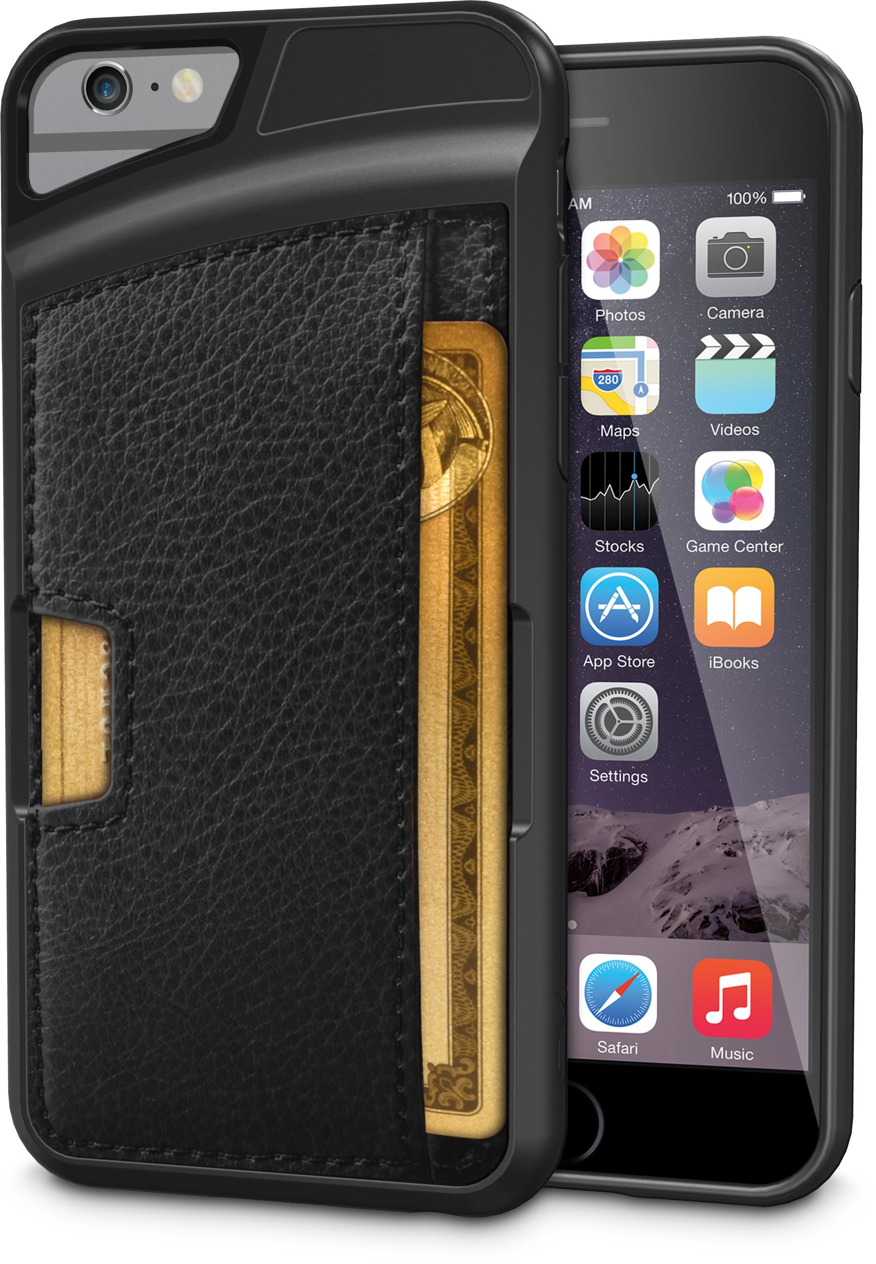 Silk iPhone 6/6s Wallet Case – VAULT FITS 3 CARDS PLUS CASH – For the 3 people who still carry cash.